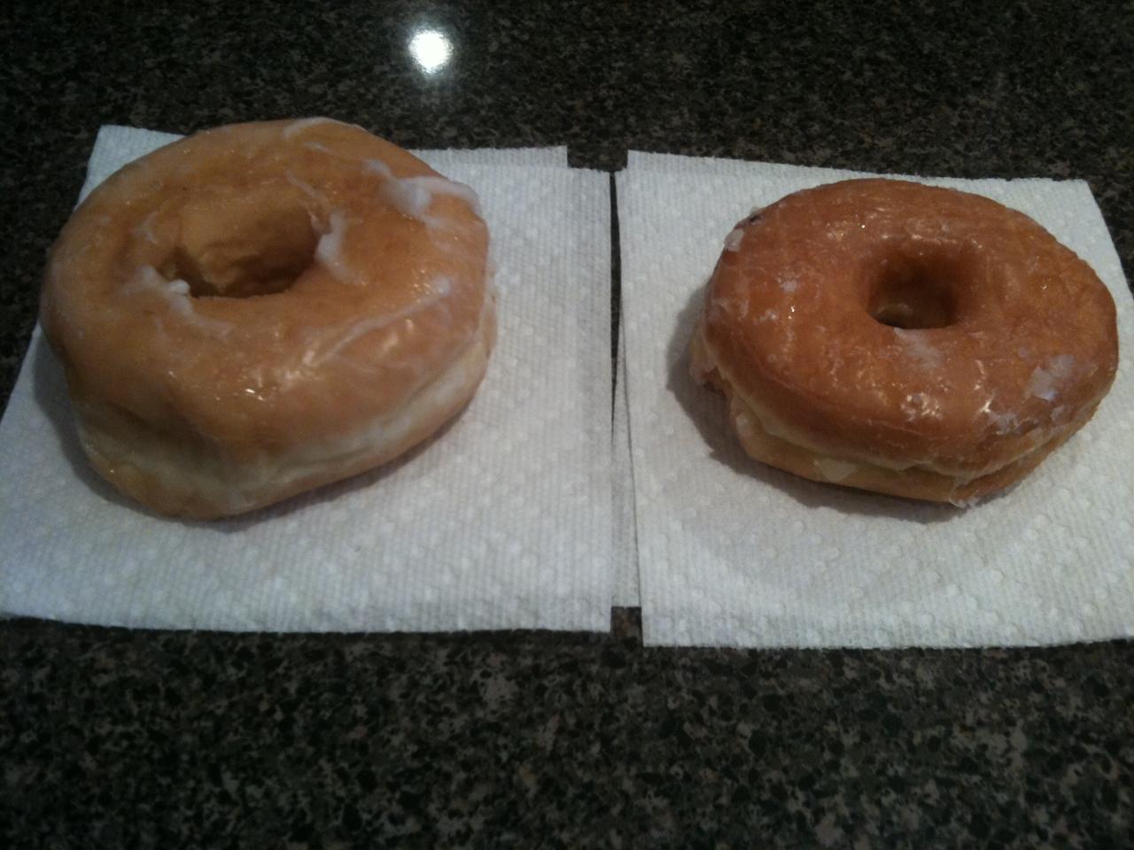 Dunkin Donuts/Honey Dew Challenge | thewanderinghashbrown